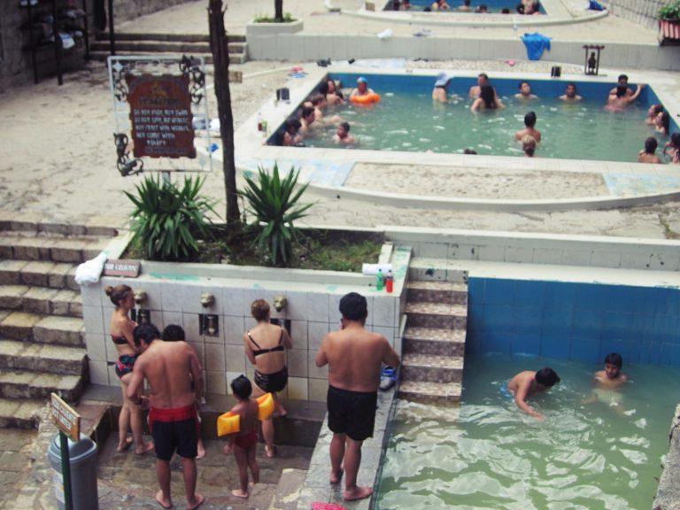 マチュピチュ温泉の様子