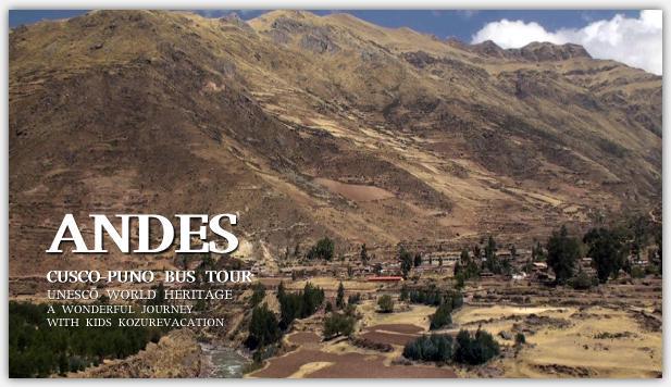 アンデス高原の集落