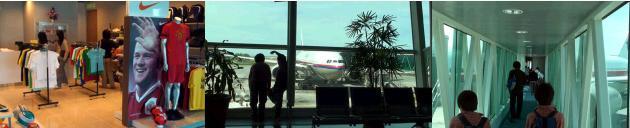 空港内にあるマンユニショップ