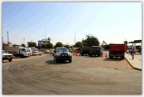 バスセンターの駐車場