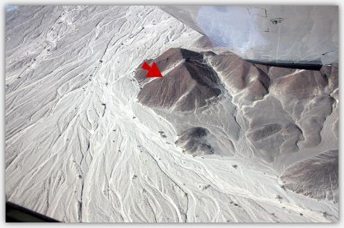 宇宙飛行士の地上絵