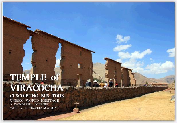 ビラコチャ神殿の壁