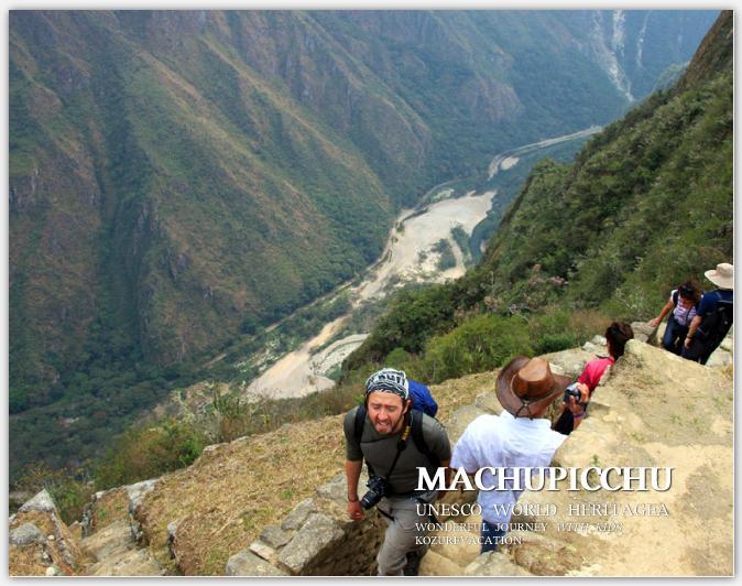南側斜面とウルバンバ川