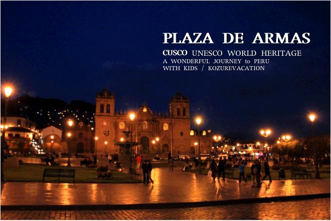 アルマス広場の夜景