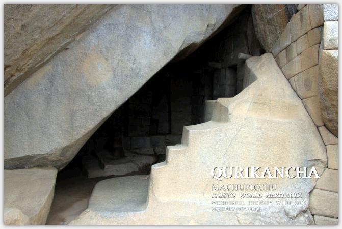 石室の入り口