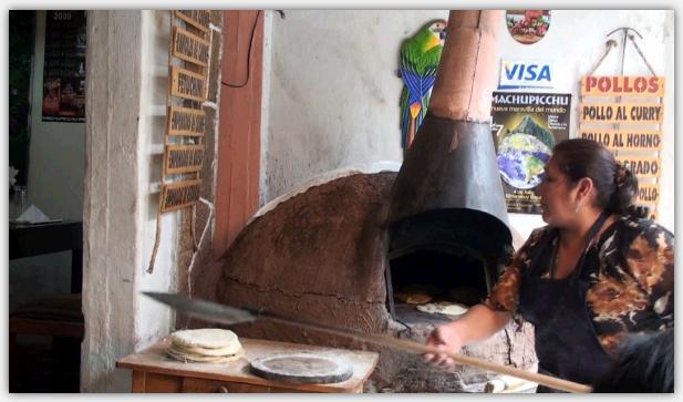 本格的なピザ窯があるイタリアンレストラン