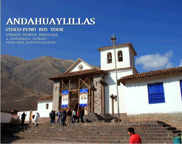 アンダワイリーヤス村のサンペドロ教会