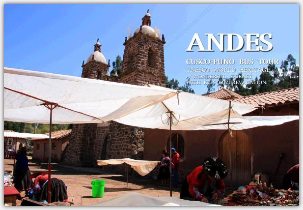 アンデス高原の教会