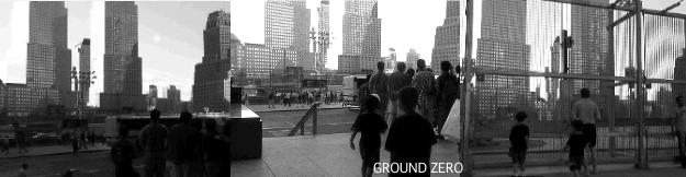 グラウンドゼロ2005年当時の写真