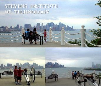マンハッタンのベストビューポイントで記念写真