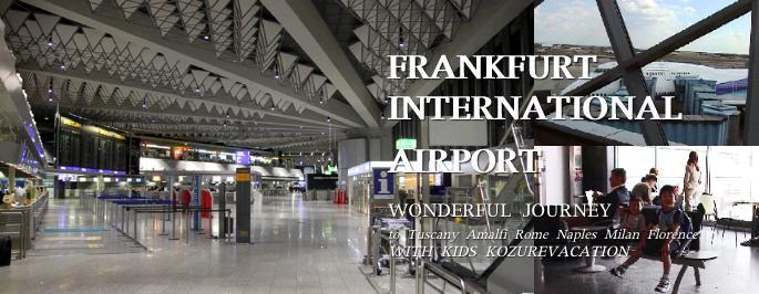 フランクフルト国際空港で乗り換え