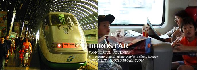 ミラノ駅とユーロスター