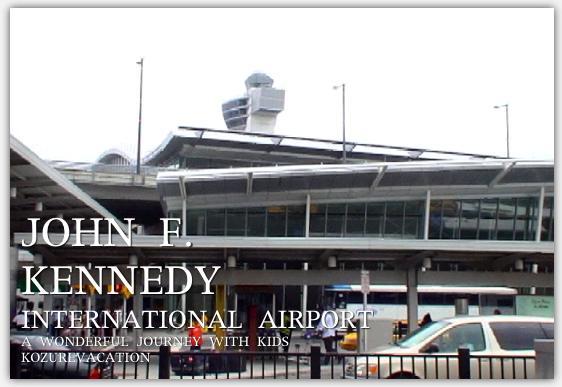 ジョンエフケネディ空港のターミナルビルの外観