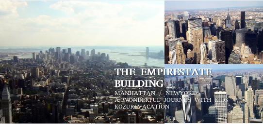 エンパイアステートビルからのマンハッタンの眺め
