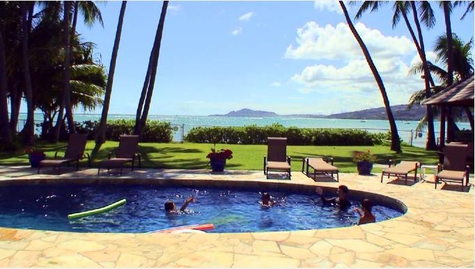 ハワイのバケーションレンタルで借りた一戸建て