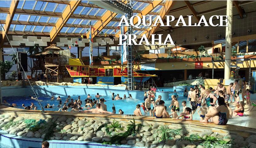 アクアパレスプラハの波の出るプール