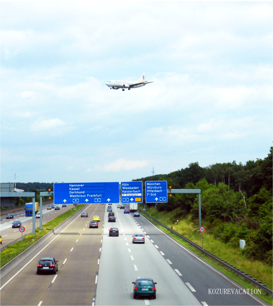 ヨーロッパの高速道路