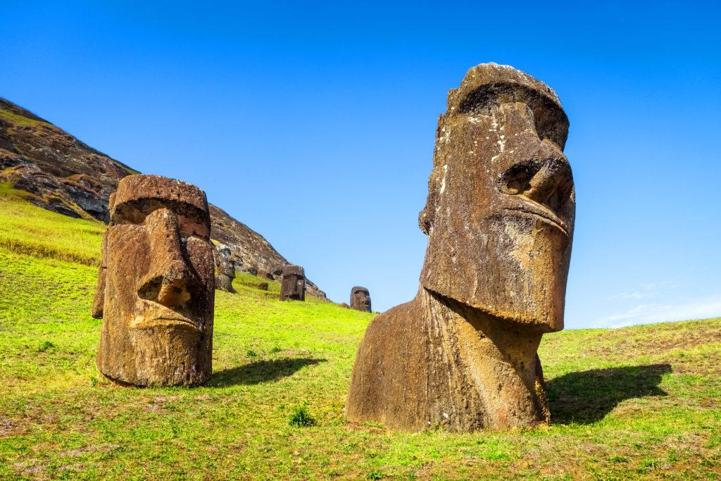 イースター島で人気の観光地・ラノララク