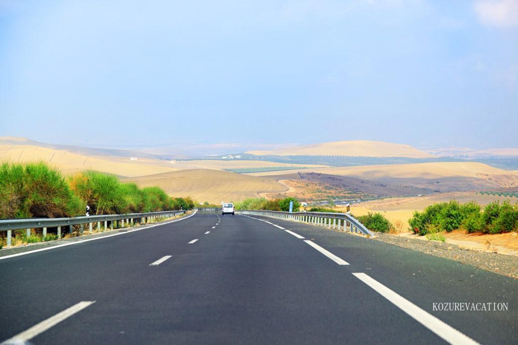 スペインの高速道路