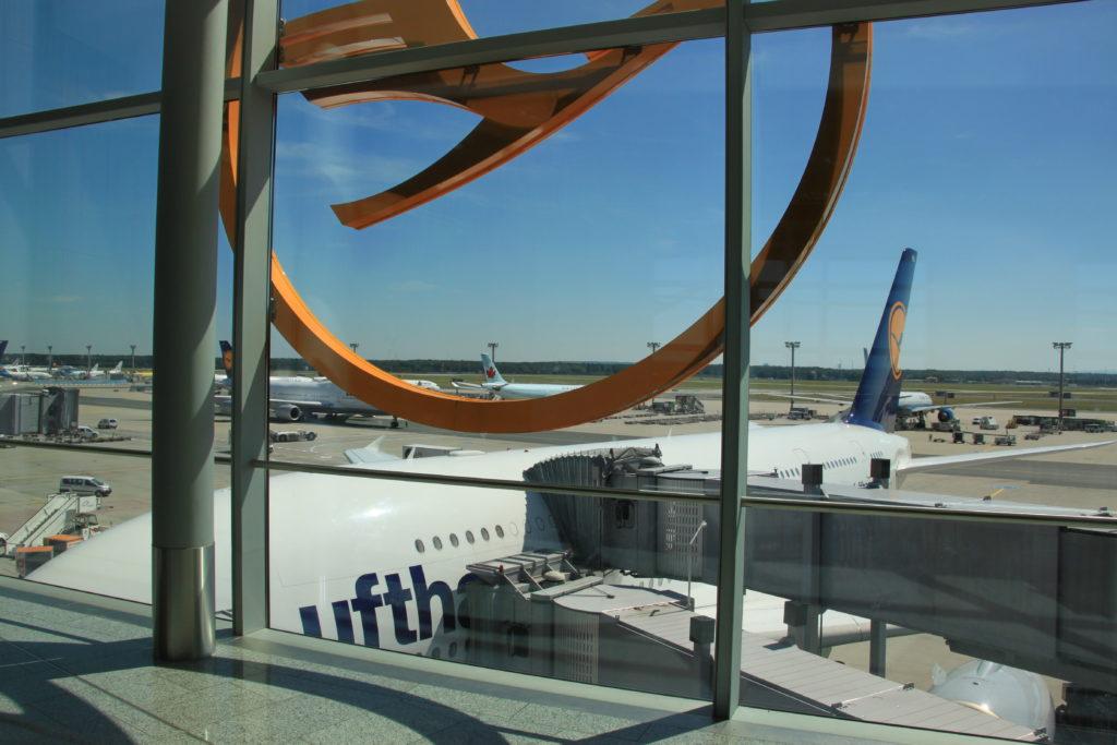 ヨーロッパのLCCの発着が多いフランクフルト空港第2ターミナル