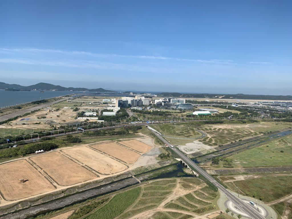 ソウル・インチョン空港で記念撮影