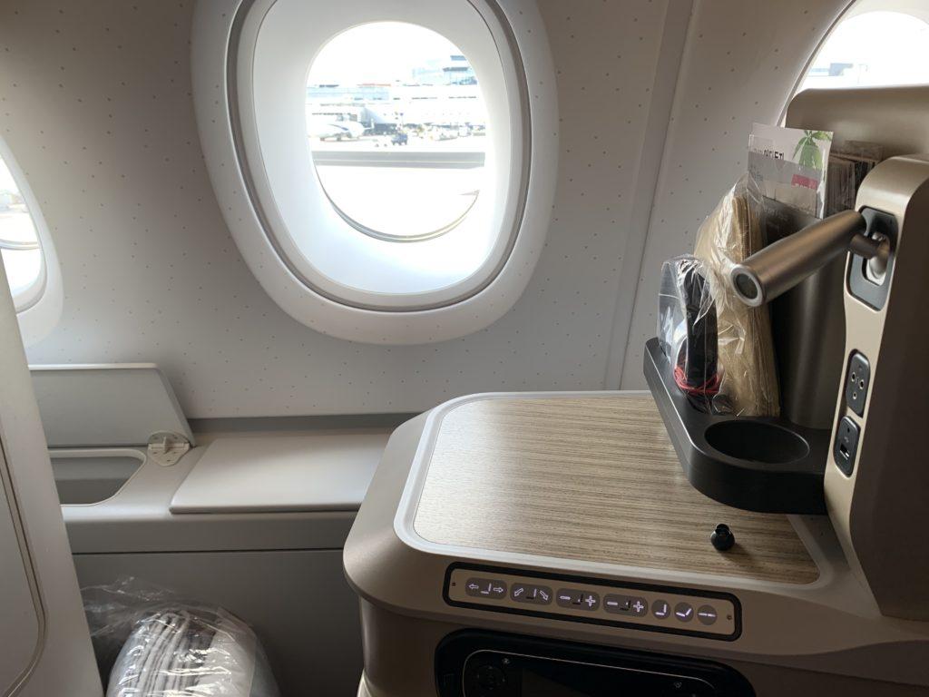 アシアナ航空542便のビジネスクラス