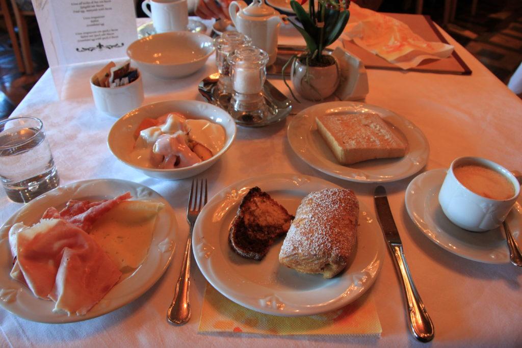ホテルガーデニアの朝食
