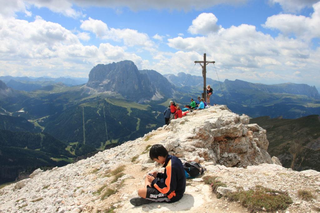 コルダラピエレスの山頂