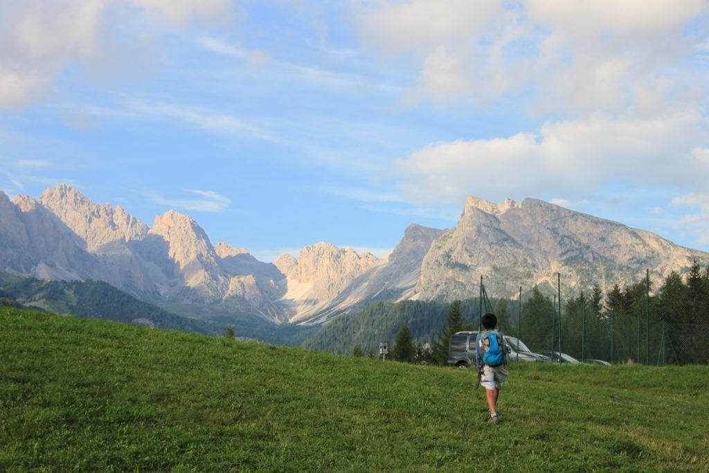 サッソピアットからの下山コース