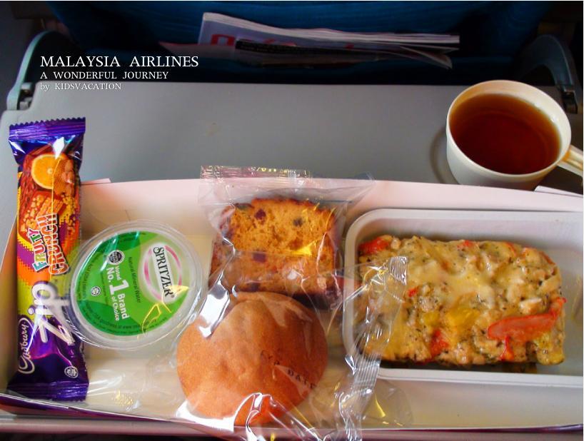 機内食のキッズミール