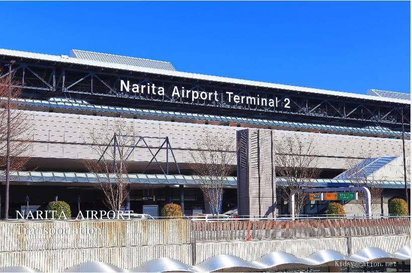 成田空港第2ターミナルの出発ロビー