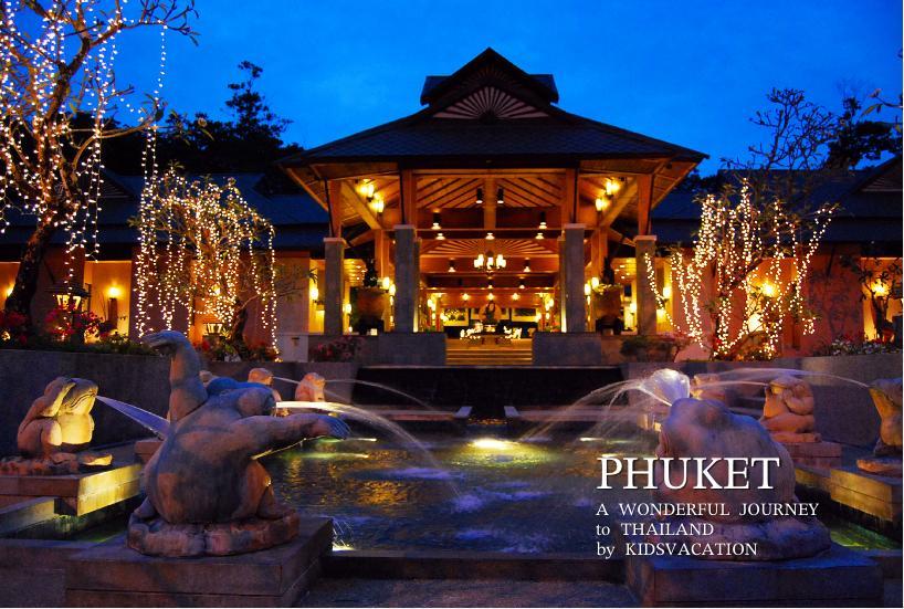 アジア風デザインで統一されたカオラックメルリンリゾート