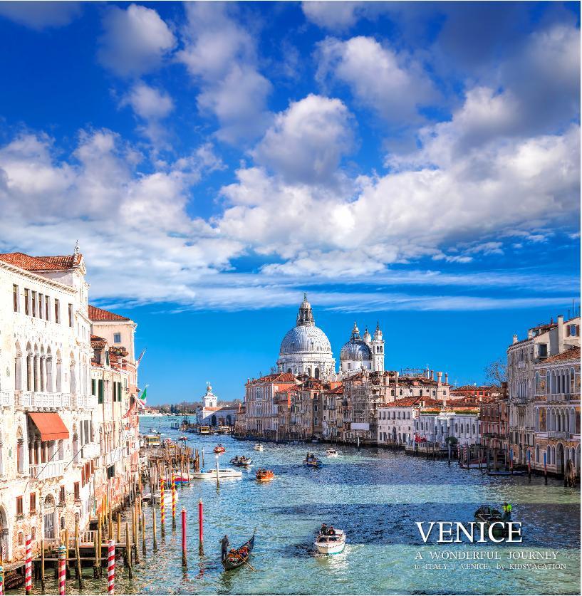 ベネチアの大運河の眺め
