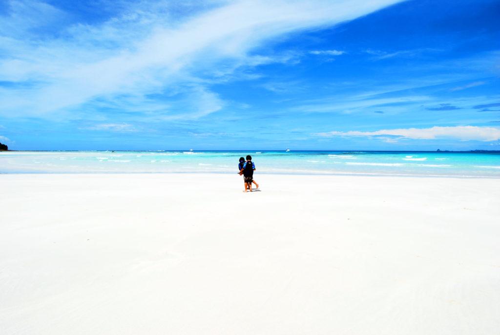 マダガスカルで一番美しいビーチがあるイランジャ島
