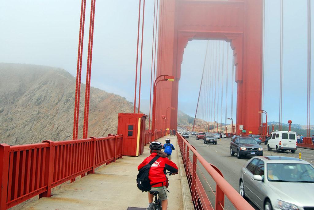 サンフランシスコで子連れサイクリング
