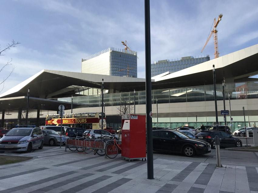 ウィーン中央駅北口
