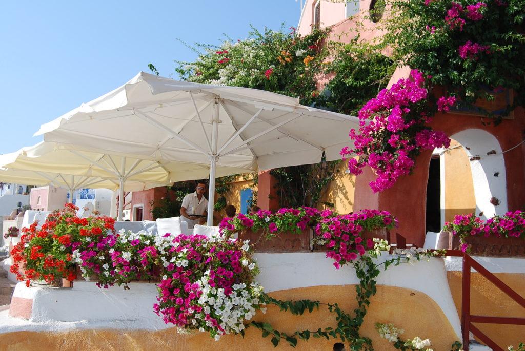 ギリシャのレストラン