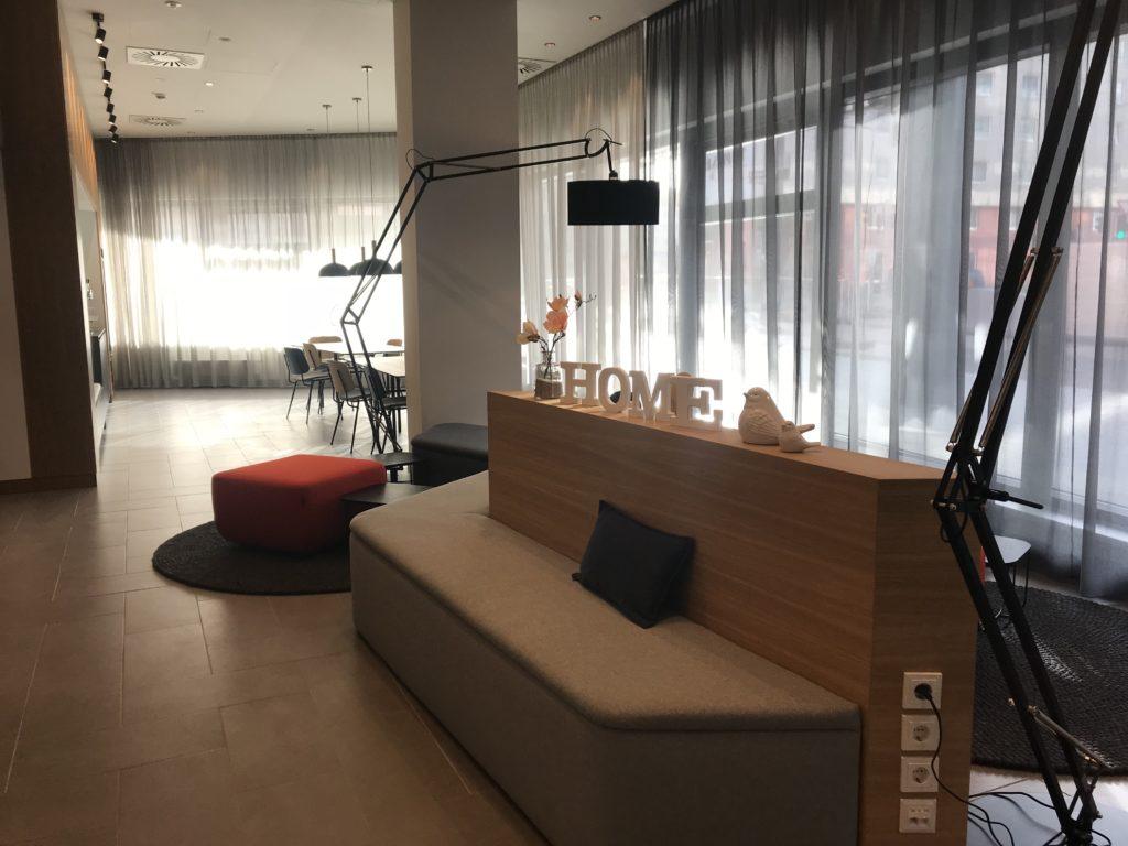 スマートメンツビジネスウィーンハウプトバンホフアパートホテルのロビー