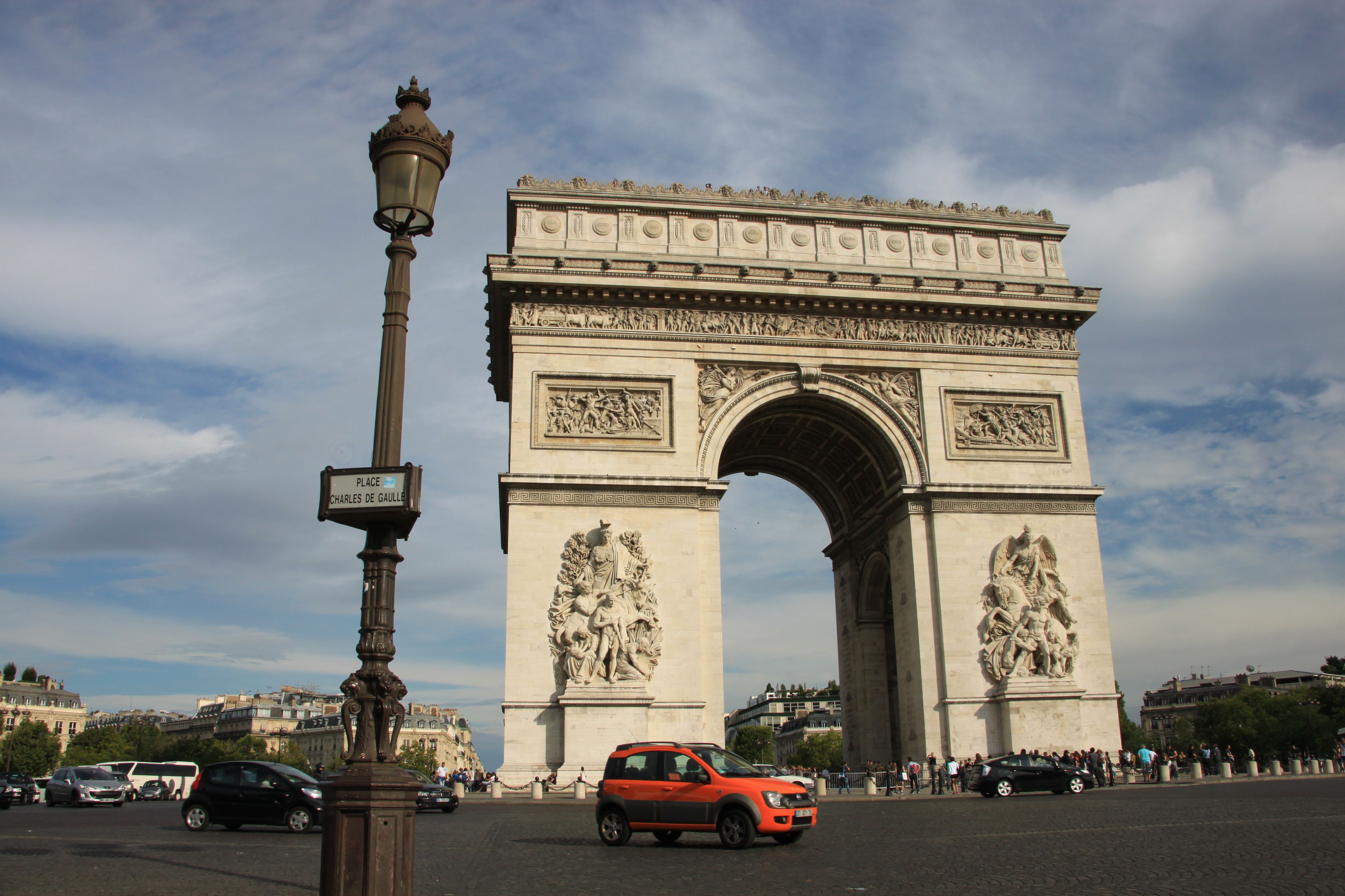 世界遺産パリの凱旋門
