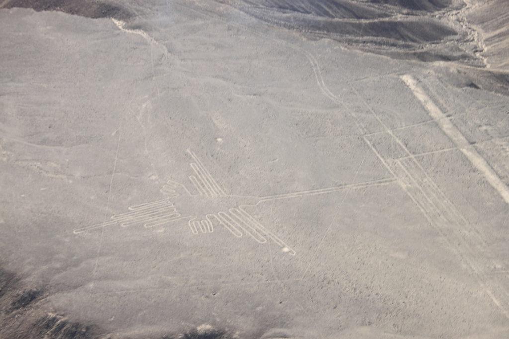 ナスカ平原に描かれた巨大な地上絵