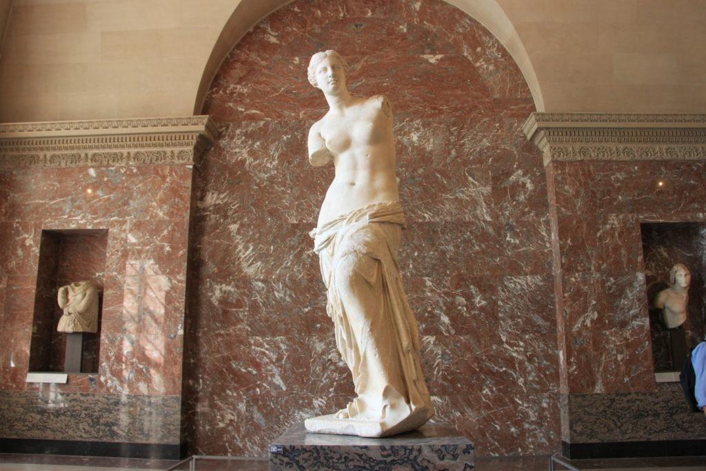 ルーブル美術館のミロのヴィーナス