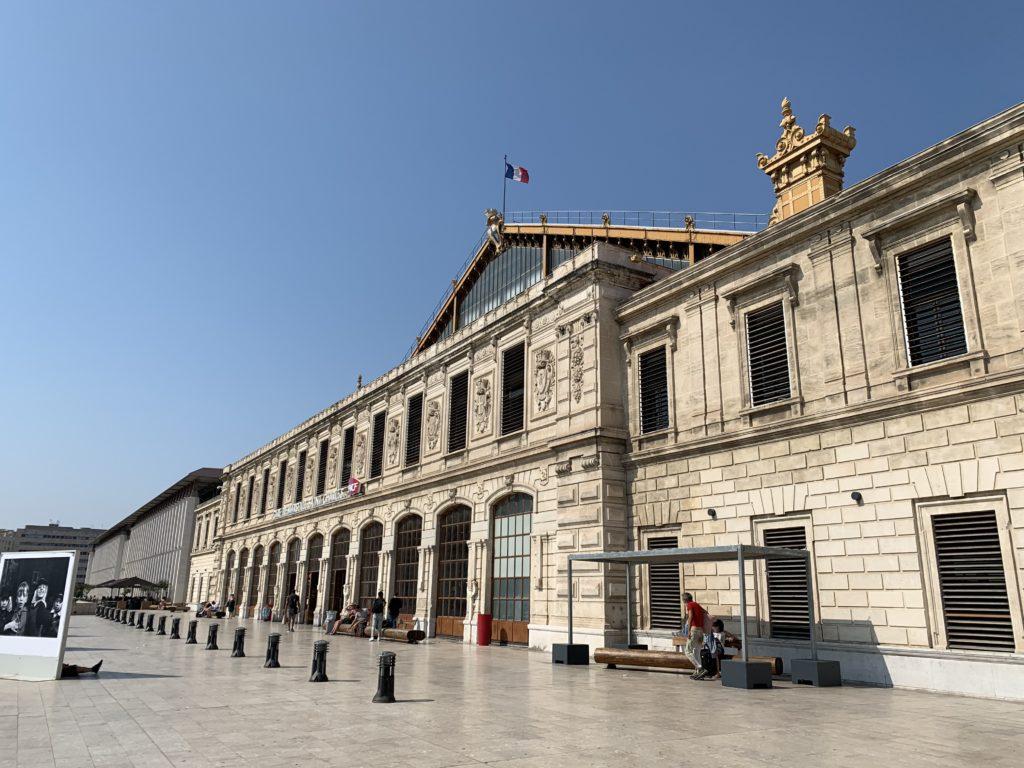 マルセイユ・サンシャルル駅の外観