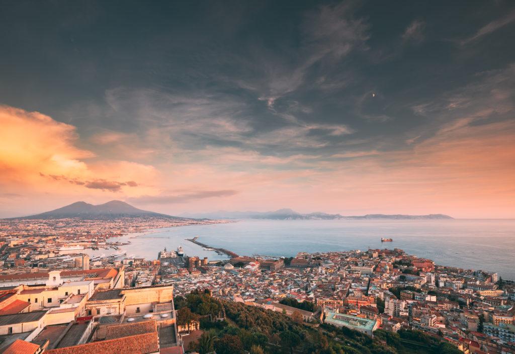 世界遺産ナポリ湾