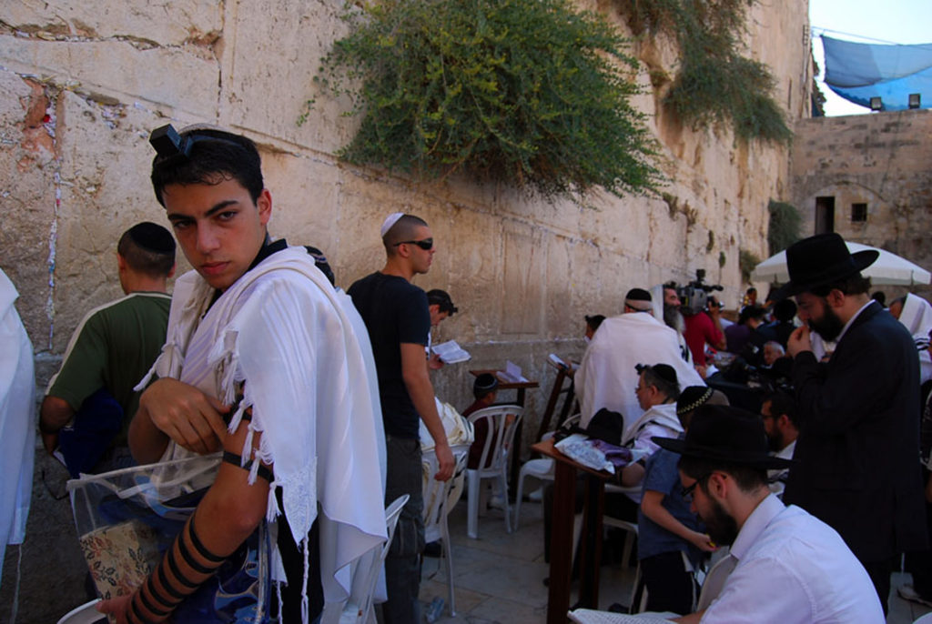 エルサレムにあるユダヤ教の聖地「嘆きの壁」