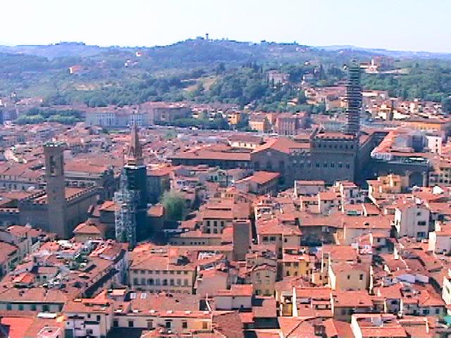 フィレンツェのドゥオーモ展望台からの景色