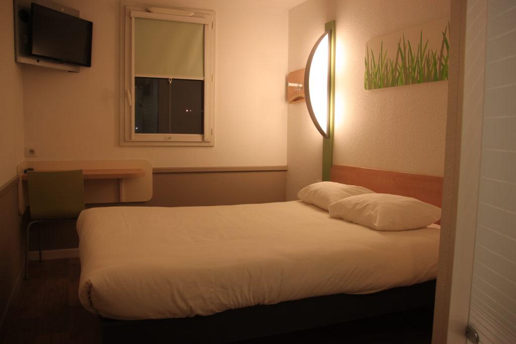 ダブルルームの客室