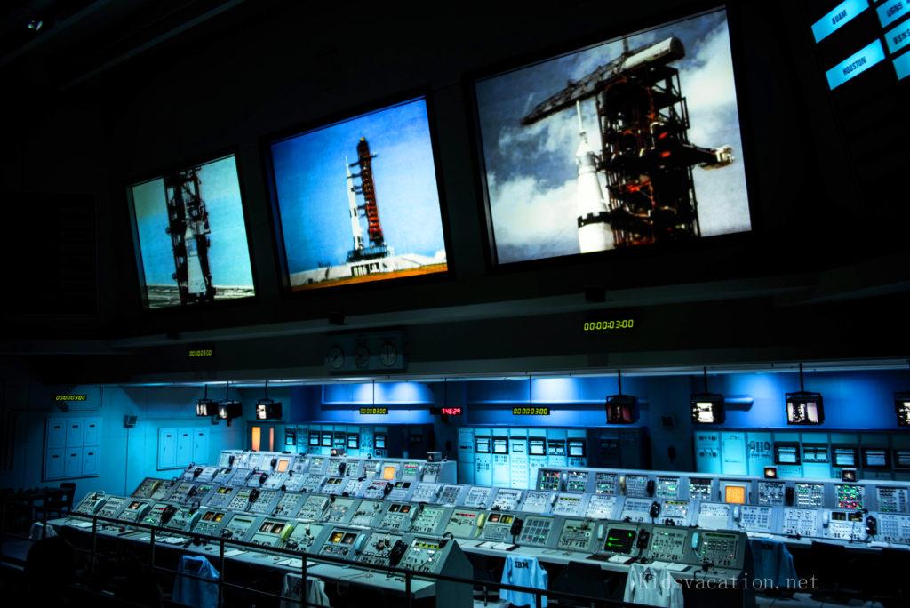 ケネディ宇宙センターの管制センター
