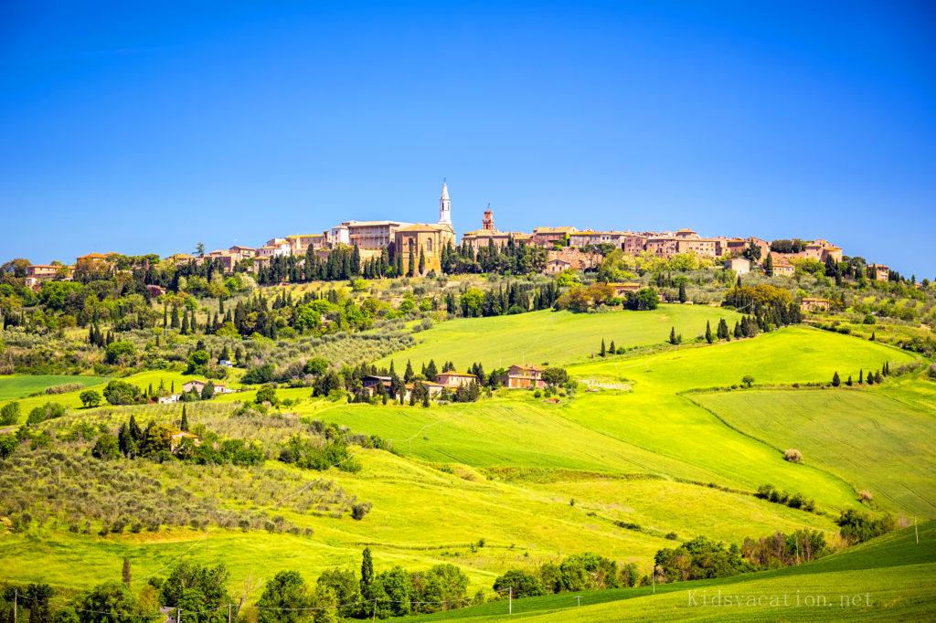 世界遺産ピエンツァの町並み