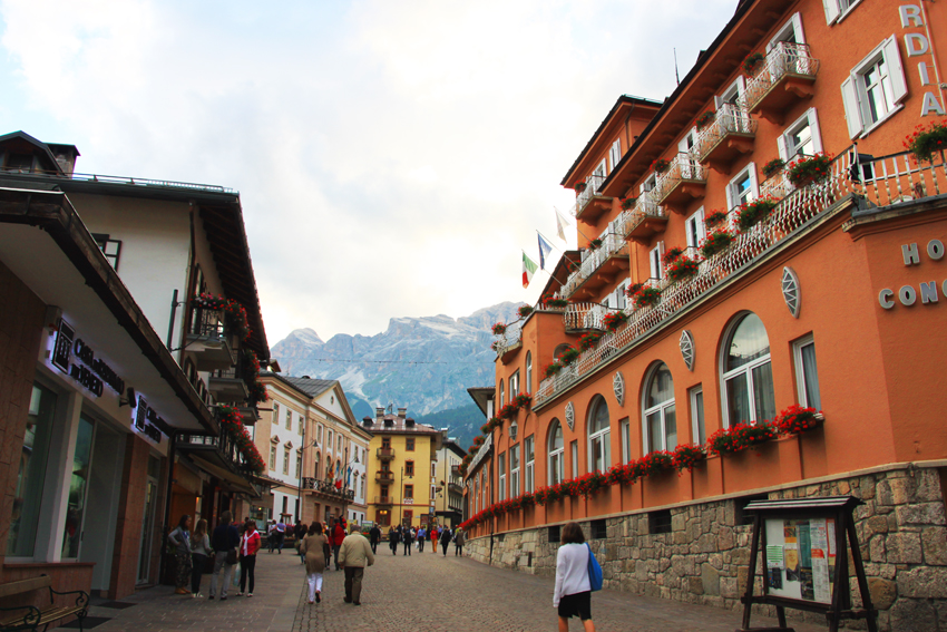 コルソイタリアに面したコンコルディアパルクホテル