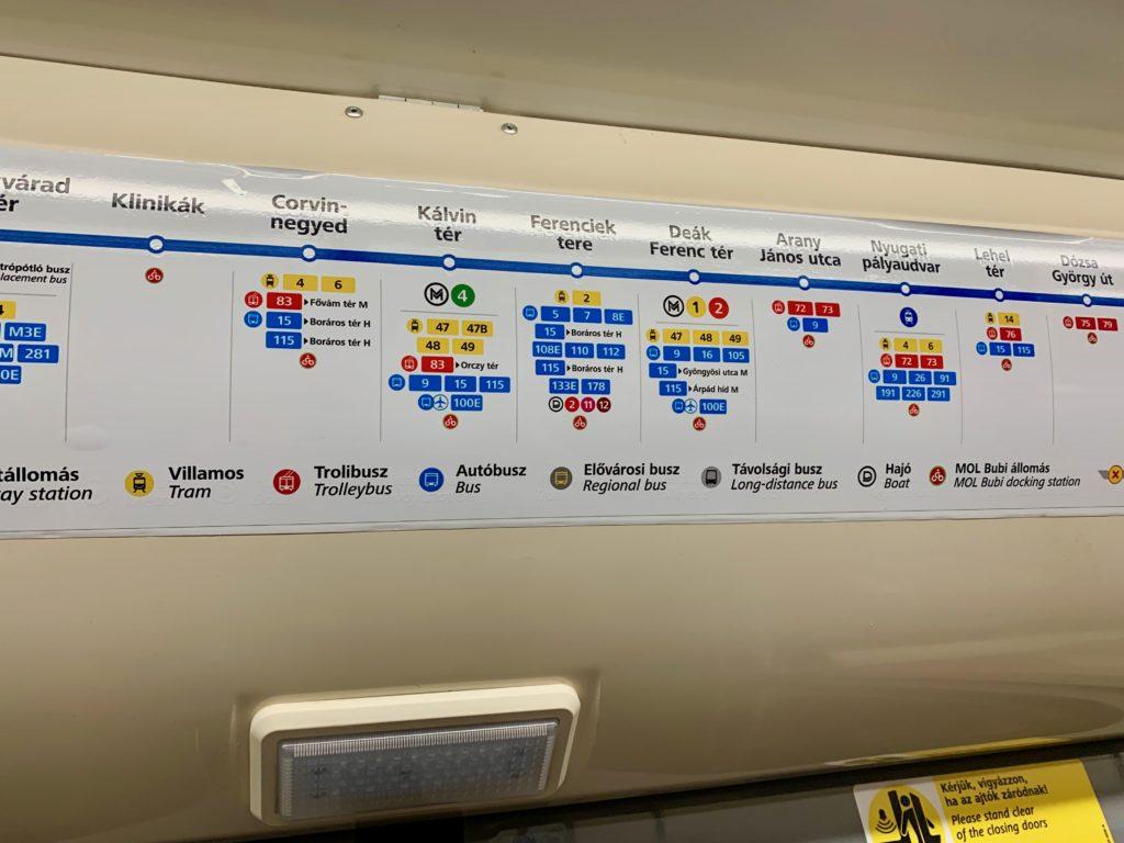 3号線の路線図